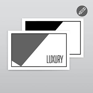 Luxury atvirukai ir kvietimai