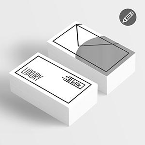 Luxury vizitinės kortelės